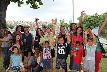 Lanche saudável: pacientes do Martagão participam de Piquenique no Dique do Tororó