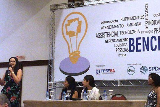 Martagão Gesteira apresenta experiências bem-sucedidas no Benchmarking Fesfba 2018