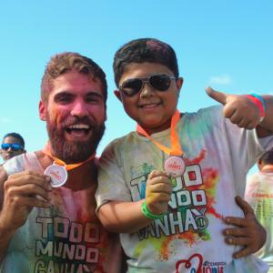 Solidariedade tem cor: Corrida Colorida arrecada recursos para o Hospital Martagão Gesteira