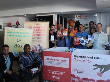 Campanha de Taxistas arrecada 900kg de alimentos para o Martagão Gesteira