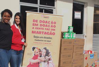 Servidores da Polícia Federal arrecadam doações para o Martagão Gesteira