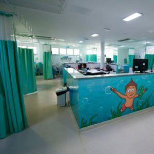 Internada no Martagão Gesteira, criança se cura da Covid-19 e recebe alta