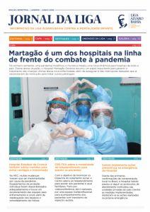 """""""Martagão é um dos hospitais na linha de frente do combate à pandemia"""", destaca reportagem do Jornal da Liga 2020.1"""