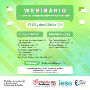 Especialistas de diferentes hospitais do país debatem transplante hepático no Brasil em encontro virtual com inscrição gratuita