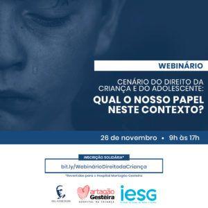 Violência contra crianças e adolescentes é tema de encontro virtual realizado pela Liga Álvaro Bahia