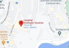 Mapa Martagão Gesteira