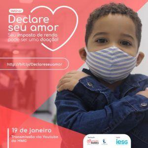 Destinação de imposto de renda para ajudar Martagão é tema de webinar
