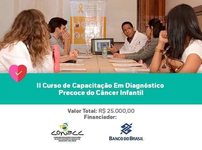 Capacitação de profissionais no processo de identificação precoce de casos novos de oncologia em pacientes para encaminhamento ao tratamento adequado de forma mais célere.