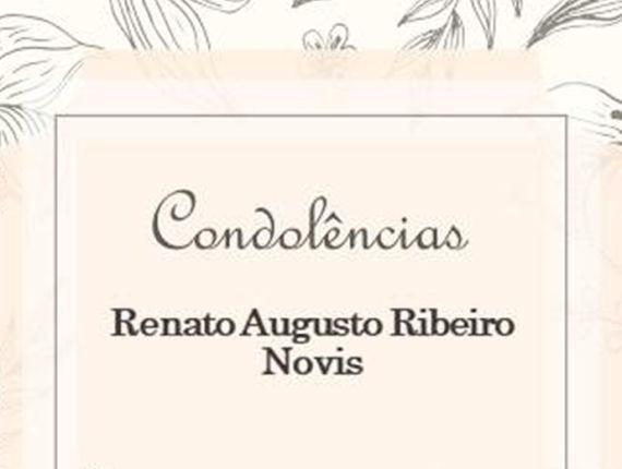 Nota de pesar pela morte de Renato Novis, ex-vice-provedor e conselheiro da Santa Casa da Bahia