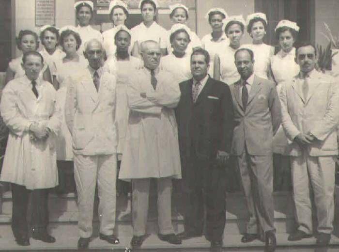 Visita do Governador Régis Pacheco ao Hospital Martagão Gesteira