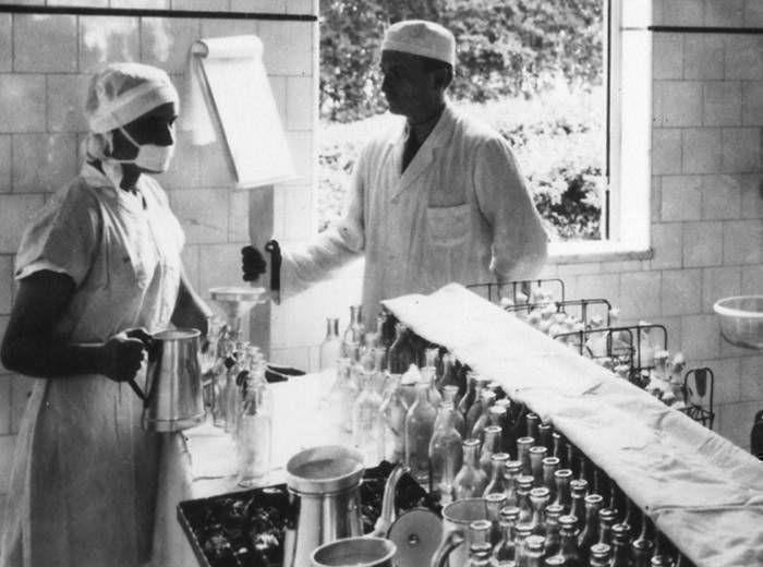 LACTARIO JULIA DE CARVALHO - Sala de distribuição do banco de leite