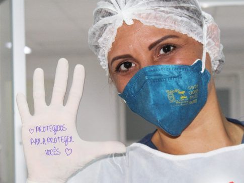 Hospital recebe doação de EPI's feita pelo BNDES e CMB
