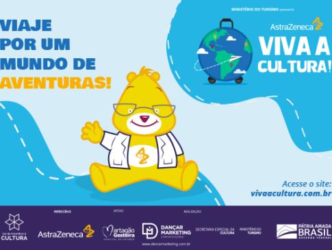 Projeto AstraZeneca Viva a Cultura! 2021 leva diversão e entretenimento em formato digital para crianças do Martagão