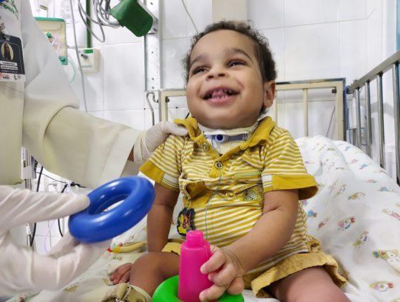 Programa de assistência do Martagão permite que crianças com doenças crônicas retornem para casa