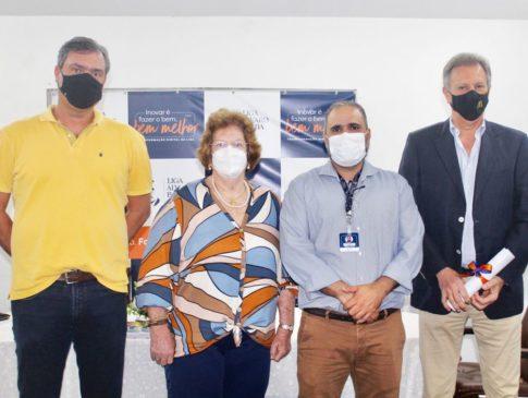 Mantenedora do Hospital concede título de sócio benemérito para empresário baiano