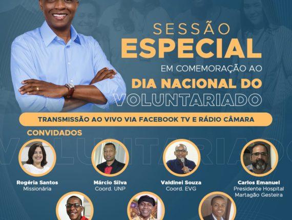 Dia Nacional do Voluntariado: Hospital participa de sessão especial da Câmara